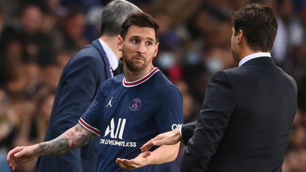 Reconciliación a la vista: Messi y Pochettino hablaron tras incidente ante Lyon