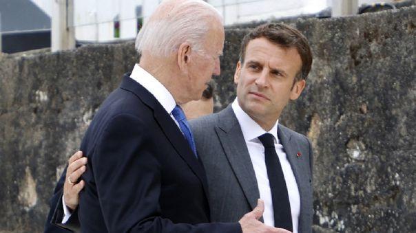 Macron y Biden prometen restablecer la