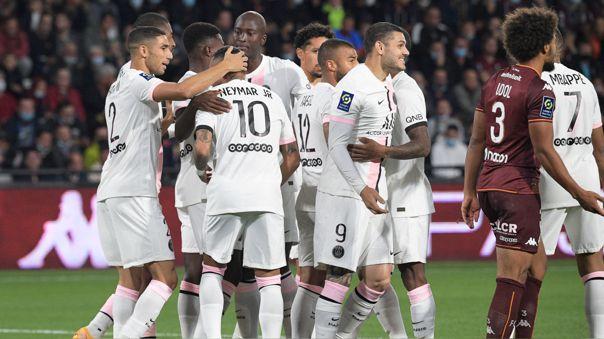 PSG se mantiene en lo más alto de la Ligue 1 con su victoria.