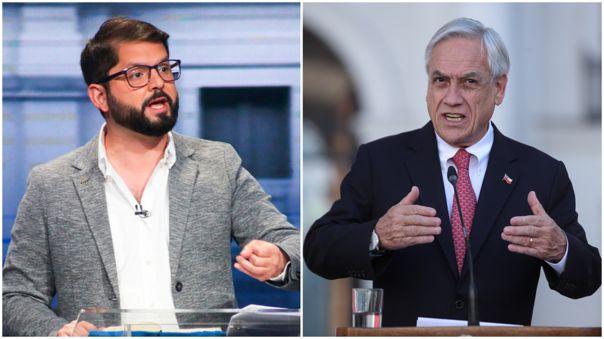 Gabriel Boric promete llevar a Sebastián Piñera ante la justicia.