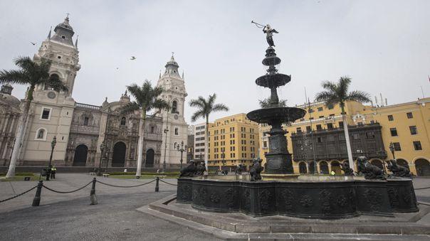 Alcalde de Lima pide la apertura de la Plaza Mayor