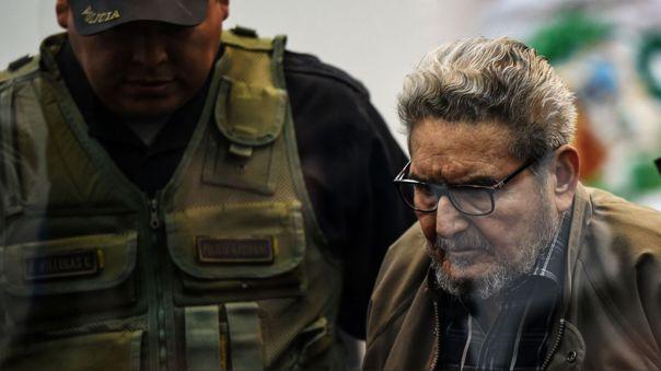 Cabecilla terrorista Abimael Guzmán