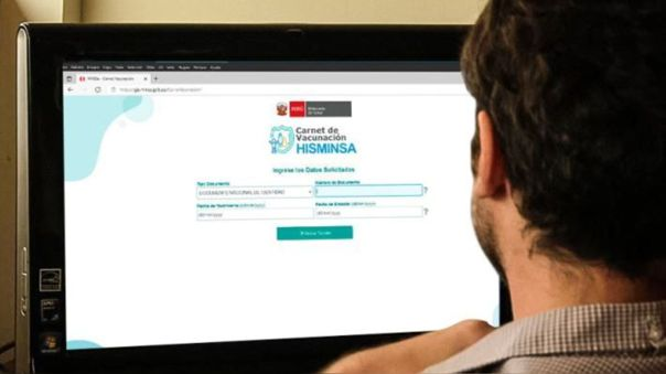 El carnet de vacunación se puede conseguir en la página web del Ministerio de Salud.