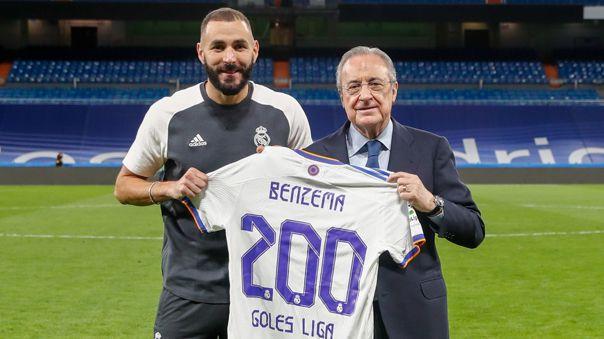 Real Madrid tiene como su goleador de la temporada a Karim Benzema.