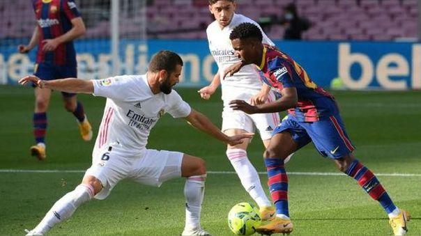 Barcelona y Real Madrid se verán las caras en el mes de octubre.