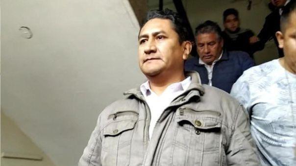 Vladimir Cerrón declarará el próximo jueves en investigación por lavado de activos.