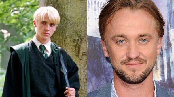 Tom Felton le dio vida a Draco Malfoy en la serie de películas de Harry Potter. Actualmente tiene 34 años.