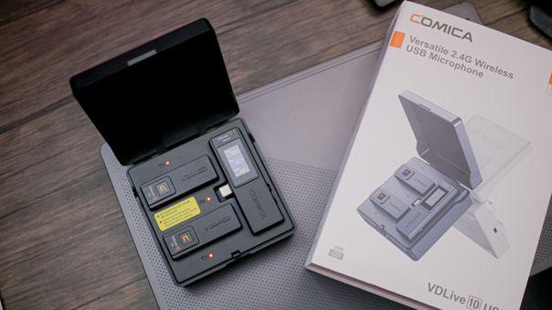 NIUSGEEK pone a prueba a los VD Live 10 USB de Comica