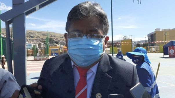 Jorge Luis Flores, congresista representante de Puno electo por el partido Acción Popular.