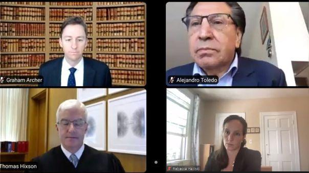 Fiscalía estadounidense sustentó el pedido de extradición de Alejandro Toledo