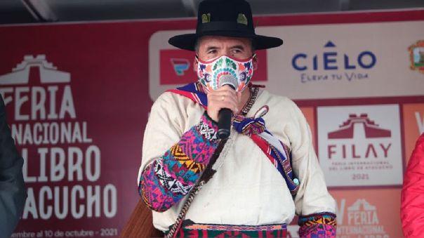 Ciro Gálvez. Ministerio de Cultura. FIL Guadalajara 2021.