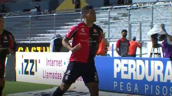 Anderson Santamaría marcó en el Atlas contra León por Liga MX.