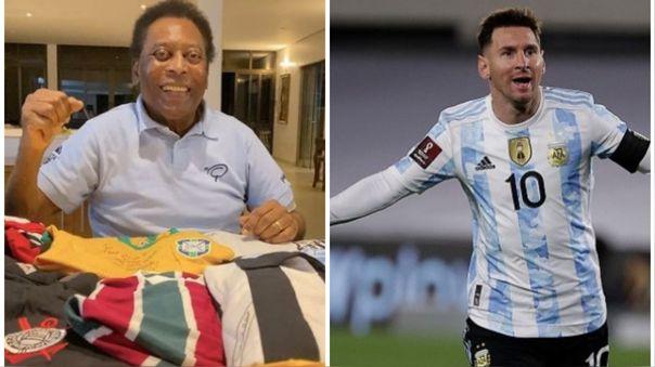 Lionel Messi y Pelé