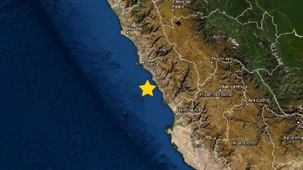 Se registró un sismo en Lima este domingo.
