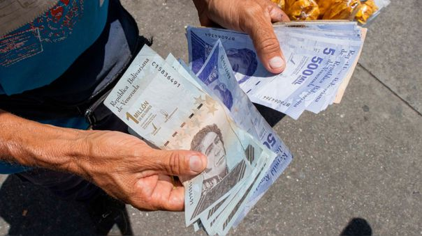 Tipo de cambio en Venezuela.