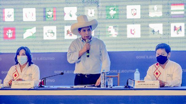 Pedro Castillo se pronuncia sobre el gas de Camisea