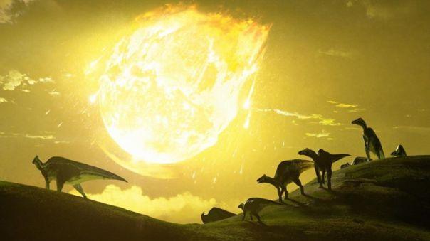Los dinosaurios, favorecidos por volcanes
