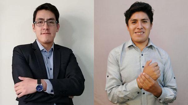 Joel Muñoz, fundador de Aprendamos Perú, y Jimy Curo, CEO de Lidera StartUp, son dos de los diez ganadores de Protagonistas del Cambio UPC 2021.
