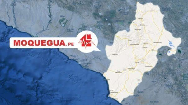 Un sismo se registró en Moquegua esta tarde