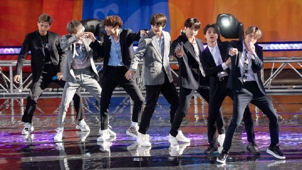 BTS. K-Pop. Conciertos. EE.UU. Pandemia COVID-19