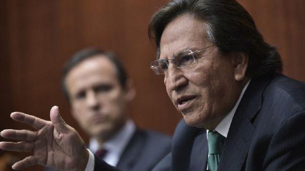 Poder Judicial programa control de acusación a Alejandro Toledo