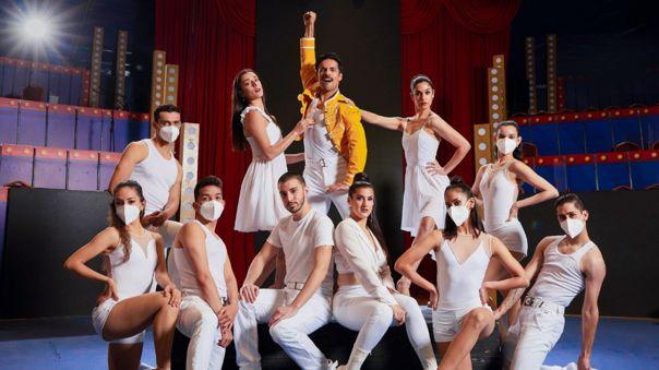 Espectáculo musical del Ballet Municipal de Lima está inspirado en la vida del cantante Freddie Mercury