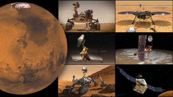 Misiones de la NASA a Marte