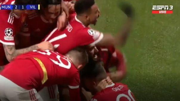 Cristiano Ronaldo le dio la victoria al Manchester United ante Villarreal.