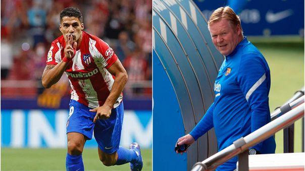 Suárez se refirió a su salida del Barcelona y apuntó a Koeman