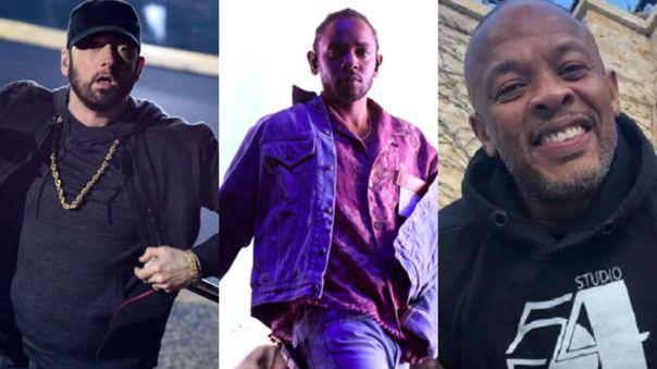 Eminem, Kendrick Lamar y Dr. Dre actuarán en el descanso del Super Bowl 2022