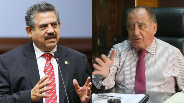 Manuel Merino y Ántero Flores-Aráoz