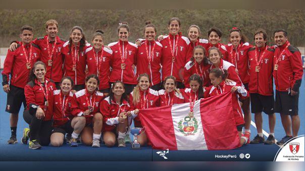 Perú campeón en el Panam Challege de Hockey