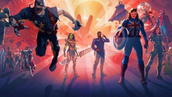 Marvel. What If...? UCM. Disney Plus.