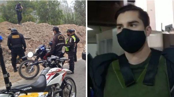 El hombre fue detenido en el distrito de San Juan de Miraflores.