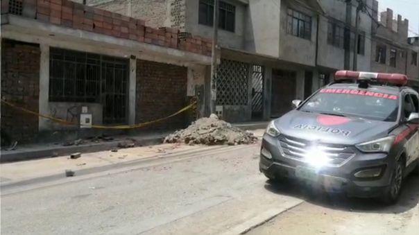 Dos hermanos fueron asesinados en San Juan de Lurigancho.