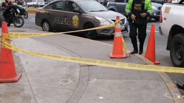 Balacera se registró cerca al vacunatorio de Plaza Norte.