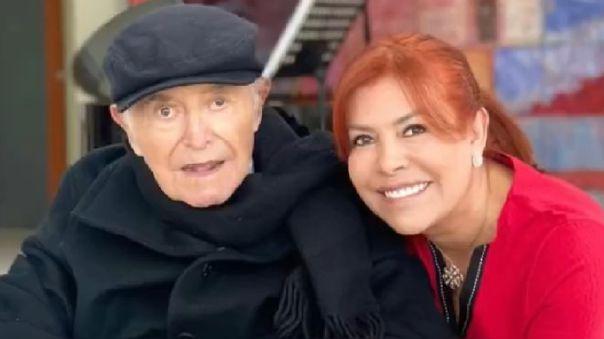 El padre de Magaly Medina fue policía, tiene 90 años y no se encuentra bien de salud.