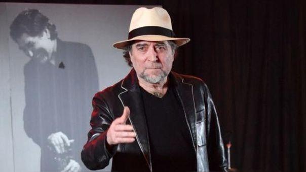 Joaquín Sabina aseguró que no dará conciertos mientras