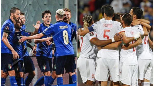 Italia vs España