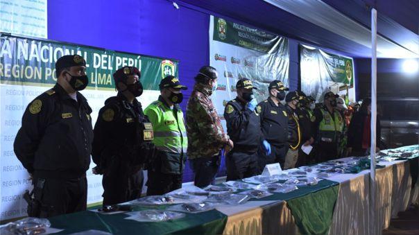 Ministro Juan Carrasco resaltó la lucha frontal contra el delito que viene liderando la policía a nivel nacional.