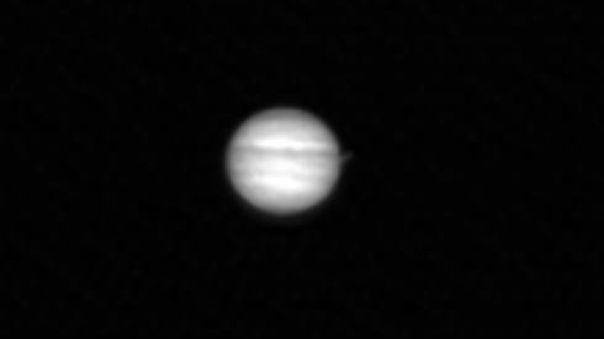 Júpiter visto desde la Luna, captado por la Cámara del Orbitador de Reconocimiento Lunar
