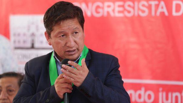 Guido Bellido, expresidente del Consejo de Ministros.