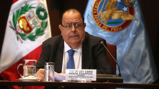 Julio Velarde, presidente del directorio del BCR.