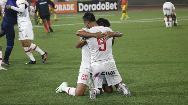 Atlético Grau celebra su vuelta a la primera división del fútbol peruano.