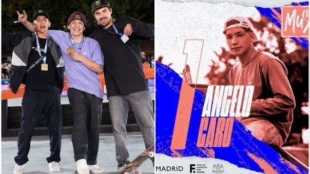 Angelo Caro lo dejó todo y quedó primero en el Madrid Urban Sports 2021.