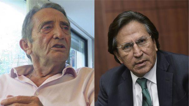 Yosef Maiman y Alejandro Toledo