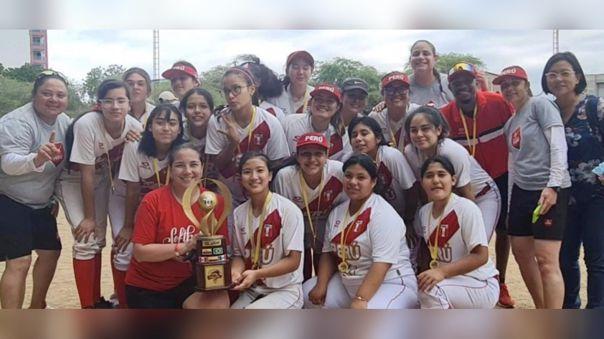 Selección Femenina de Softbol campeona sudamericana