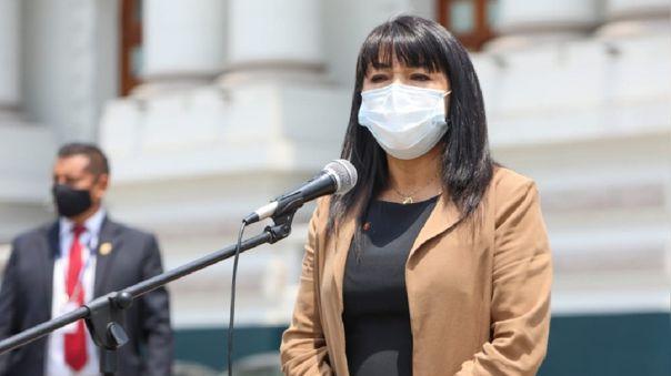 Mirtha Vásquez, presidenta del Consejo de Ministros.