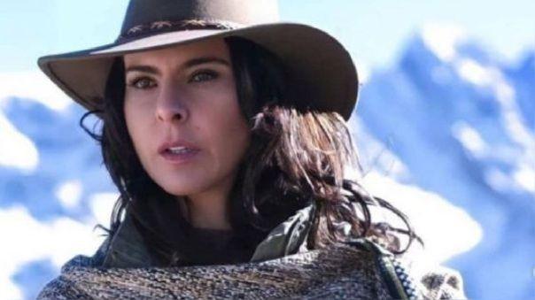 Kate del Castillo estuvo en Machu Picchu este lunes, en pleno rodaje de la tercera temporada de