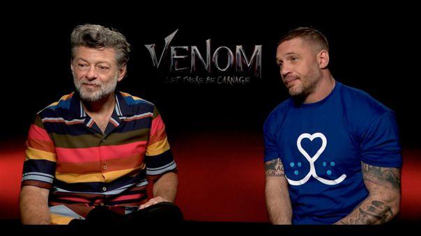 Andy Serkis es el director y Tom Hardy el protagonista de